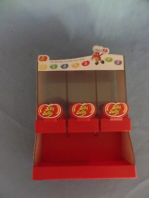 2007 Jelly Belly Sweet Shoppe DISPENSER Candy beans 3 compartments Nice