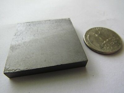 """Pyrolytic Graphite Block Roughly 1-1/2"""" x 1-1/2"""" x 1/4"""" Thick"""