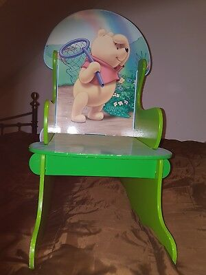 winnie the pooh rocking chair - child chair  toddler size