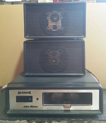 autovox one-theree base con casse- vintage