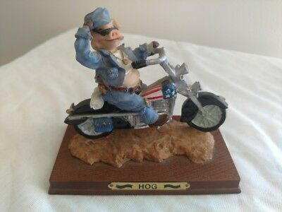 Piggy on a Motorcycle HD