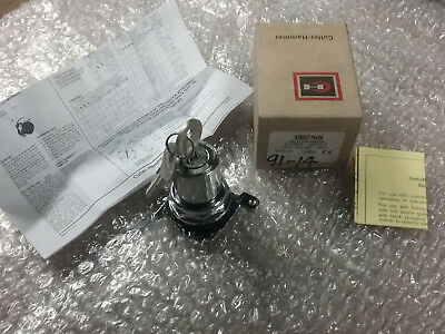 NEW CUTLER HAMMER E22KBG4 KEY SELECT SWITCH 3 POSITION FREE SHIPPING