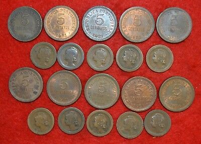 PORTUGAL LOT OF 20 coins / 5 Cent. /   Lote Nº 2
