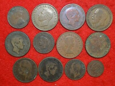 Lot of 12 very old coins / Lote nº 6