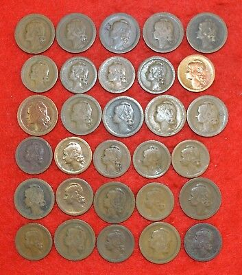 PORTUGAL LOT OF 30 coins /  10   and 20  Cent. /   Lote Nº 7