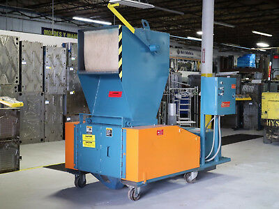 """Granulator LS Systems 40hp 17"""" X 28"""" Selfcontained Blower Discharge"""