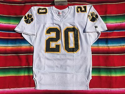 VTG Wilson sports #20 lions authentic heavy mesh football jersey adult L 46 USA