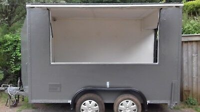 Mobile Catering Box Trailer Bar Food Ice Cream