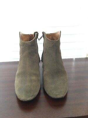 Isabel Marant Dicker Boots Size 38 Taupe