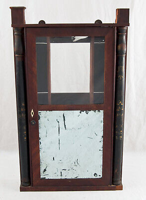 Eli Terry transitional woodworks clock case only @ 1820s Original project