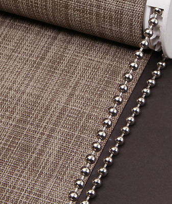 Roller / Roman Blind Metal Nickel Beaded Chain - 4.5Mm Ball - Sold By The Metre