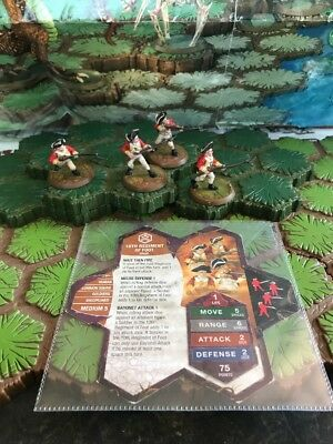 10th Regiment of Foot - Heroscape - Wave 8 Lot #3