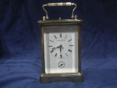 Tiffany & Co., Matthew Norman  Carriage Clock  1751,striking Repeater, Alarm