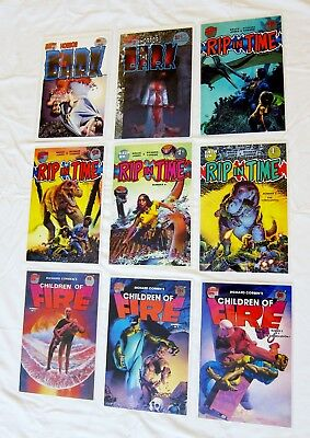 Richard Corben  Lot of 9: Rip in Time / Horror in the Dark / Children of Fire