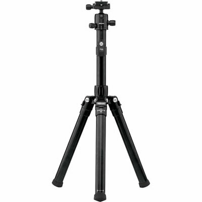MeFOTO GlobeTrotter Air Aluminum Travel Tripod/Selfie Stick, Black