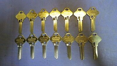 14 – Schlage Primus S134 key blanks. NEW – Out of the original Box