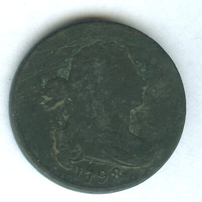 1798 US large cent