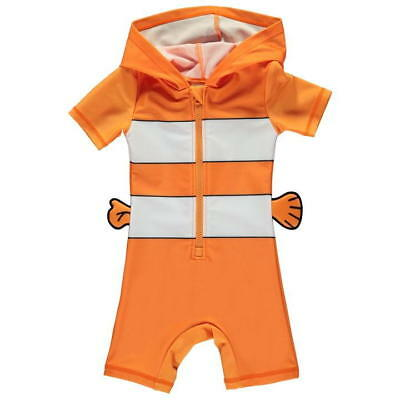 Disney Nemo Swimsuit Swim Beach Baby Kids Boys Girls Unisex Uv Sun Suit