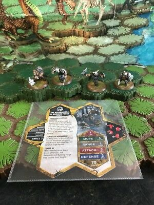Axegrinders of Burning Forge - Heroscape Blackmoon's Siege Wave 9 Lot # 2