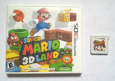 Super Mario 3D Land (Nintendo 3DS, 2011)  COMPLETE CIB N3DS tested !!