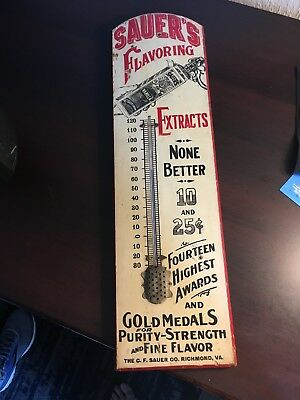 Sauer's Wooden Thermometer