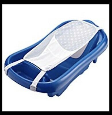 The First Years Sure Comfort Deluxe Newborn To Toddler Tub Blue