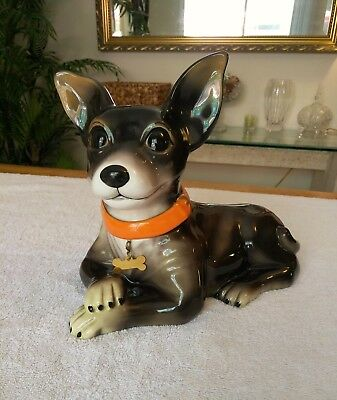 Chihuahua Cookie Jar Inspiration COOKIE JARS 6060 PicClick