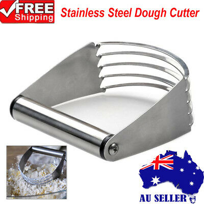 Durable Stainless Steel Kitchen Craft Pastry Dough Cutter Blender Mixer Baking