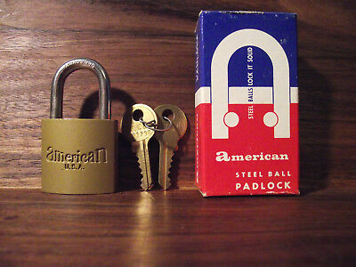 American Lock Series M105 VINTAGE MADE IN USA