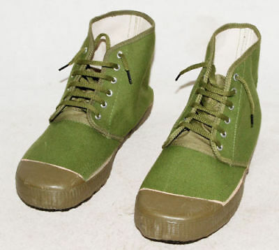 Surplus Original Chinese Army Pla Type 65 Green Shoes Liberation Boots