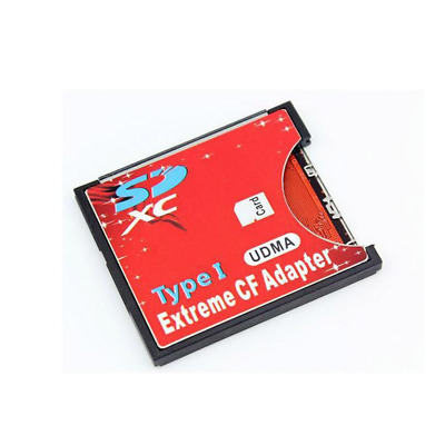 Compact Flash CF Card Type I to SD / SDHC / SDXC Memory Card Adaptor Convertor