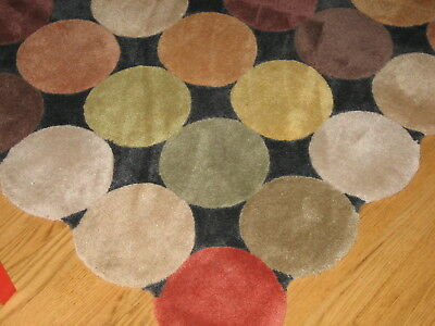 Large Children's Area Rug - Bright Colors Soft Area Rug - 5 by 8