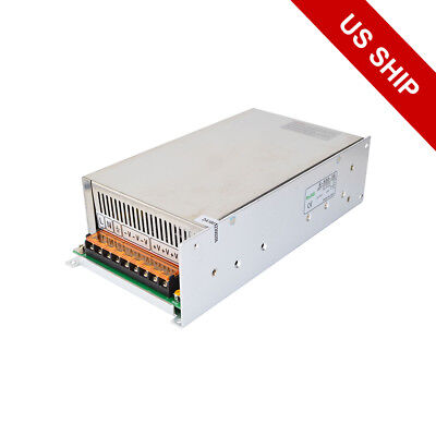 US Ship 500W 36V 14A 115/230V Switching Power Supply to Stepper Motor CNC Router