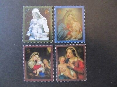 Ascension Island, Sc# 498-501, Christmas Set (1990) Mnh