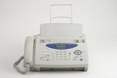 2 FAX - Brother Intellifax 775  Plain Paper Fax with Phone and Copier