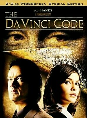 The Da Vinci Code Special Edition DVD, Widescreen 2 Disc Set, New and Sealed