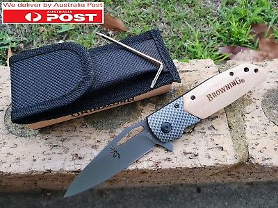 Browning X28 Quick Opening Knife for Camping, Fishing, Bush Walking and Hunting