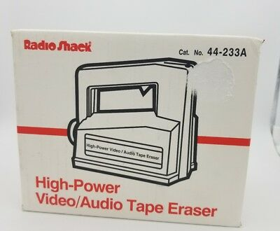 Radio Shack Realistic 44-233A High Power Video Audio Tape Eraser
