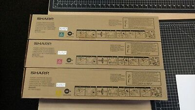 Sharp Type MX62NT Toner Set MX62NTCA MX62NTMA MX62NTYA for Sharp MX6240N