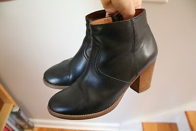 Madewell Winston Boot Black Size 10 Women