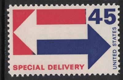 Scott E22- Special Delivery- Arrows- 45c MNH 1969- unused mint stamp