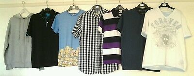 Bundle of Mens Clothes. Size M. (FRED PERRY, LACOSTE, BURTON, HEAVY DUTY....)