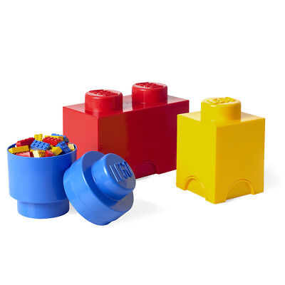 NEW Lego Small Multi Storage Brick Set 3pce