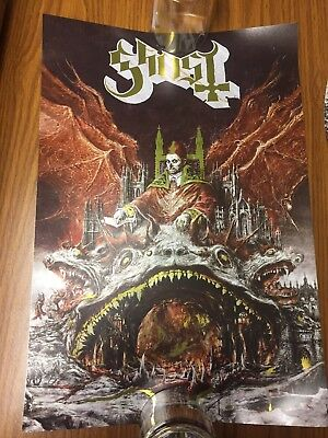 ghost prequelle Brand New Gold Foil Promo Litho Poster