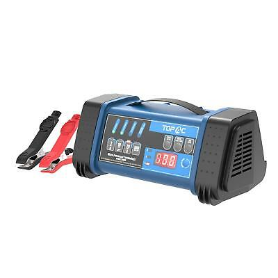 12//24 Volt 10//6//2A Intelligent Battery Charger//Maintainer SOL-PL2410 Brand New!