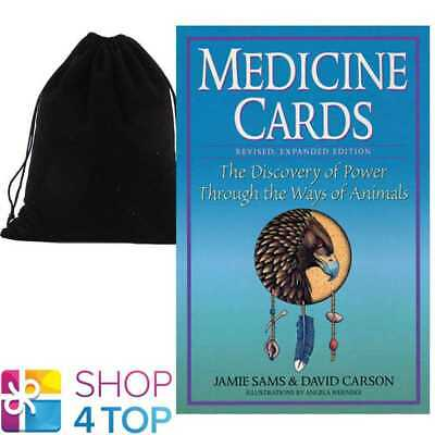 Medicine Cards Deck Book Set Playing Esoteric Us Games Systems With Velvet Bag