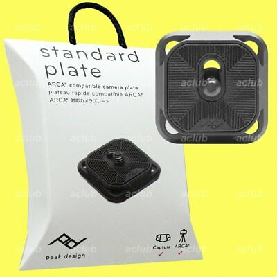 Peak Design Standard Plate v2 for Arca-Compatible Camera Tripod Head Capture V3