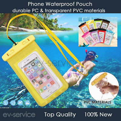 Waterproof Case Dry Bags Pouch For iPhone 4s 5 5c 5s se 6 6s 7 8 9 10 11 X Plus