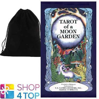 Tarot Of The Moon Garden Deck Cards Esoteric Us Games Systems With Velvet Bag