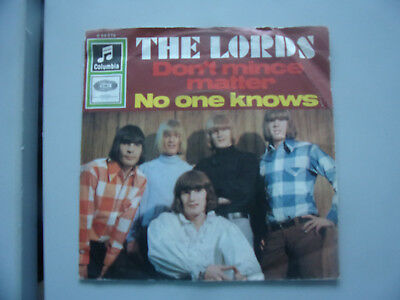 The Lords / Dont mince Matter / 7 Inch /1966
